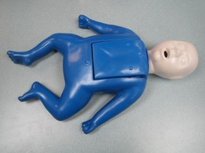Infant CPR training