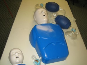 Adult and Infant CPR and AED class for health care providers
