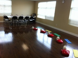 Vancouver First Aid Classroom