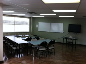 First Aid and CPR Classroom in Calgary